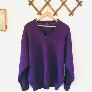 Jantzen Vintage Wool Orlon Acrylic Knit Sweater